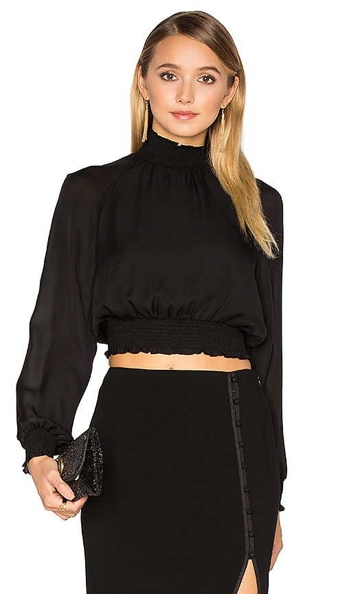 Cinq a Sept Hera Blouse in Black