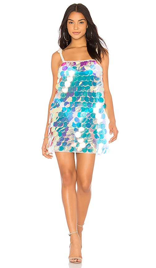 CHIO SEQUIN MINI DRESS