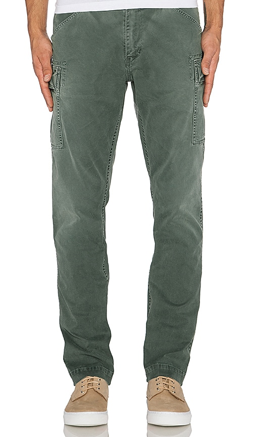 Citizens of Humanity Premium Vintage Utility Straight Pant in Army Green