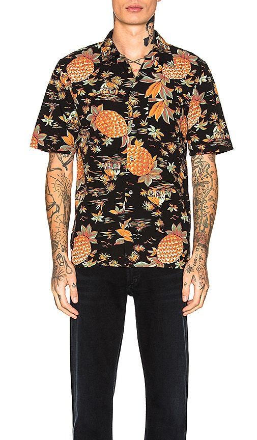 Citizens of Humanity Resort Shirt in Black