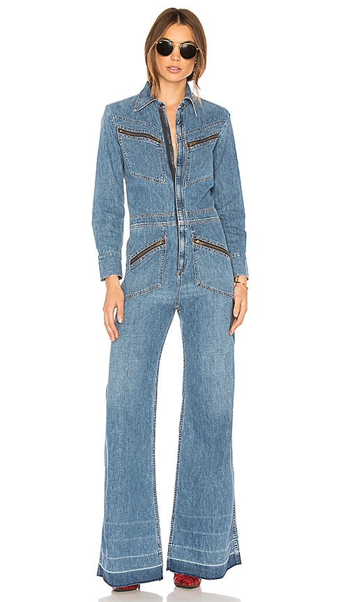 d7499efdbc04 CITIZENS OF HUMANITY FARRAH 70S JUMPSUIT