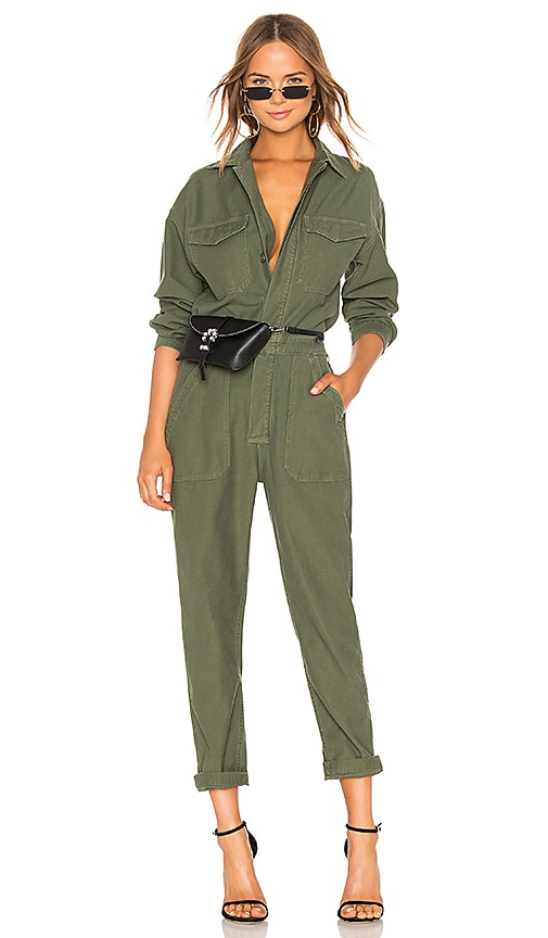 77abc3b29 Citizens of Humanity Marta Jumpsuit in Retreat | REVOLVE