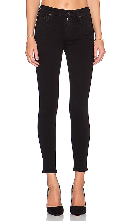 Citizens of Humanity Rocket Petite Skinny in Black