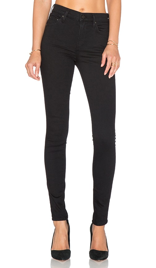 Citizens of Humanity Rocket Mid Rise Skinny in Black