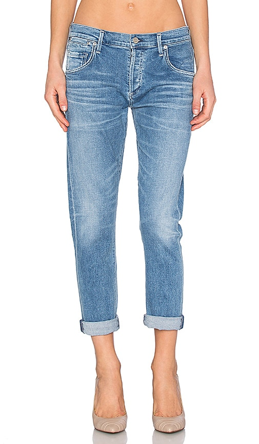 Emerson Cuff Slim Fit Boyfriend Ankle. - size 25 (also in 24,26,27,28,29) Citizens Of Humanity