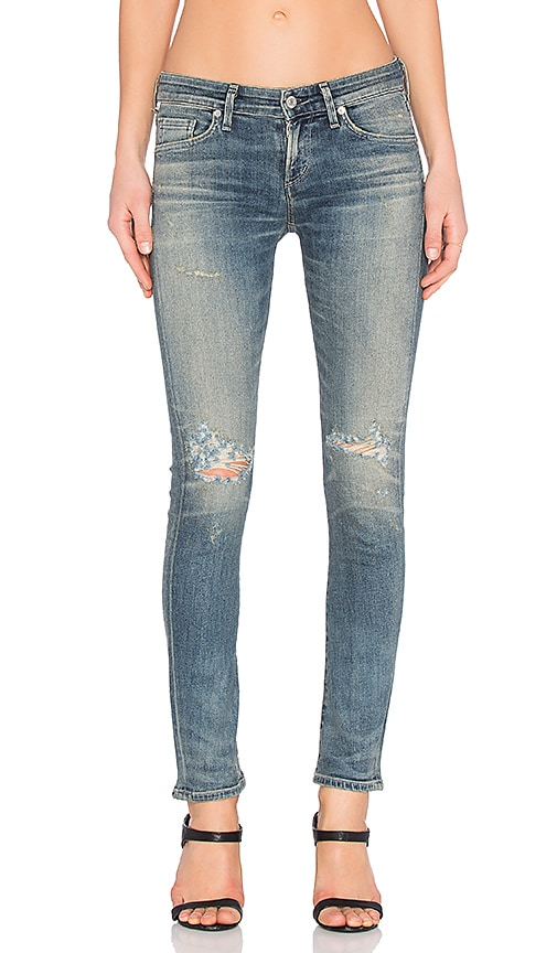 Citizens of Humanity Racer Premium Vintage Low Rise Skinny in On The Mend