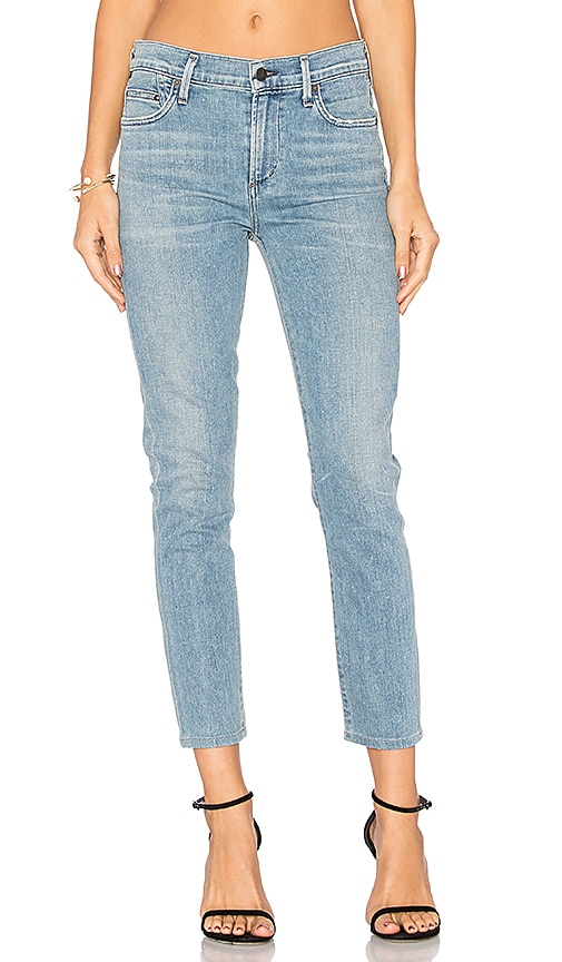 Citizens of Humanity Rocket High Rise Crop Skinny in Blue