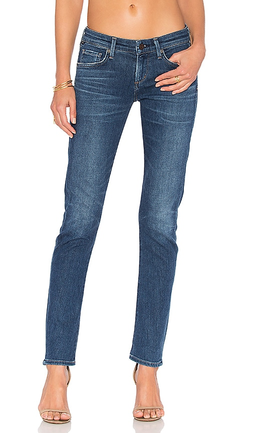 Racer Low Rise Skinny in Blue. - size 25 (also in 23,24,26,27,28,29,30,32) Citizens Of Humanity