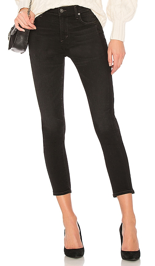 Citizens of Humanity Rocket Crop in Black