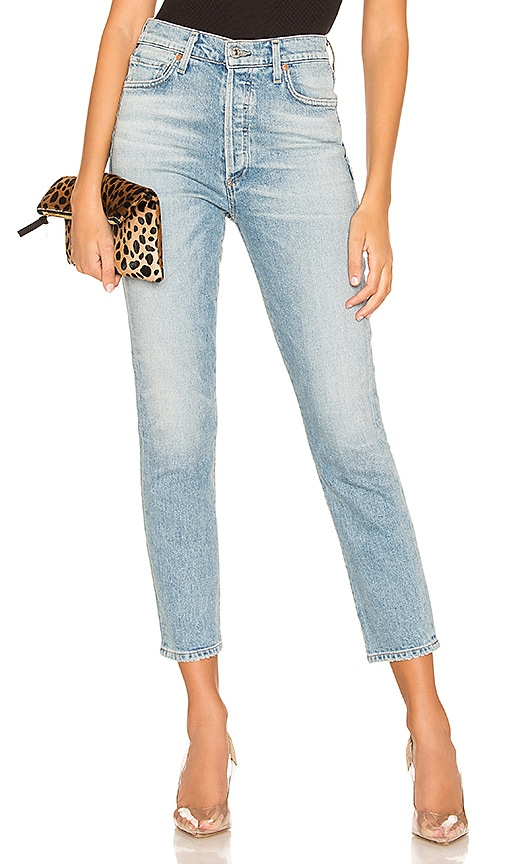 Olivia Crop High Rise Slim