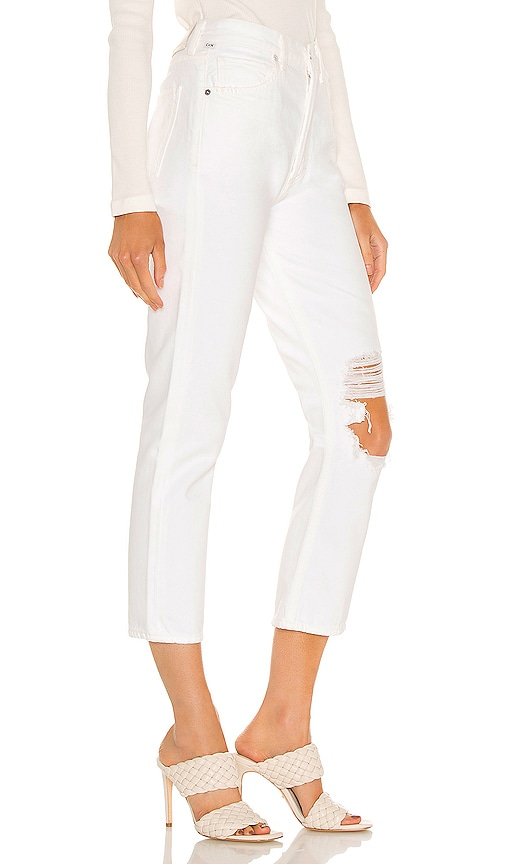 CITIZENS OF HUMANITY Pants CHARLOTTE CROP HIGH RISE STRAIGHT