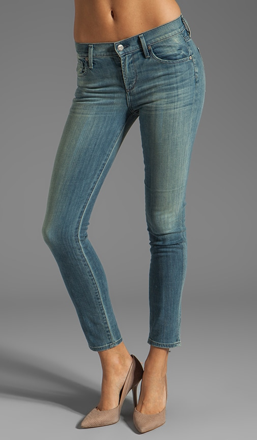 Cropped Thompson Medium Rise Skinny