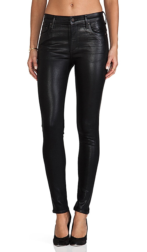 Rocket High Rise Coated Skinny