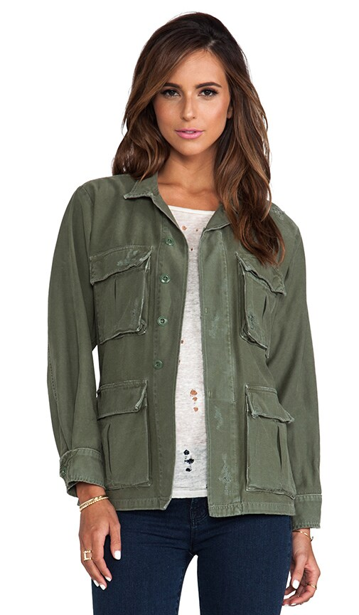 Kylie Military Jacket