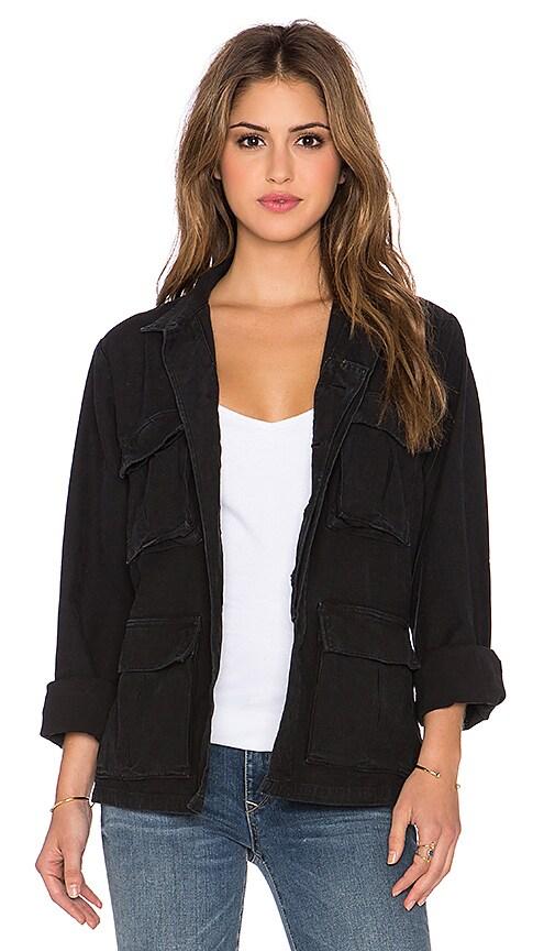 Citizens of Humanity Premium Vintage Kylie Jacket in Vintage Black