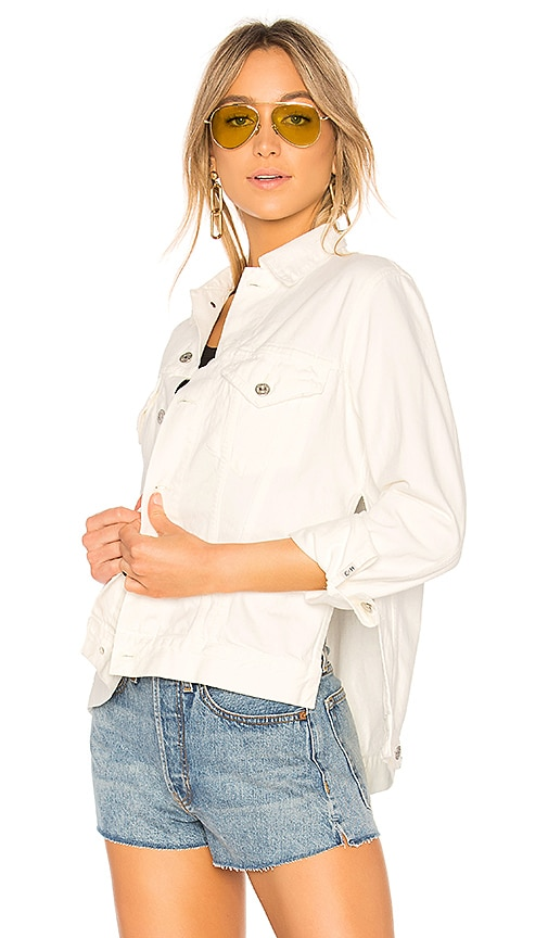 Citizens of Humanity Crista Jacket in Soft White