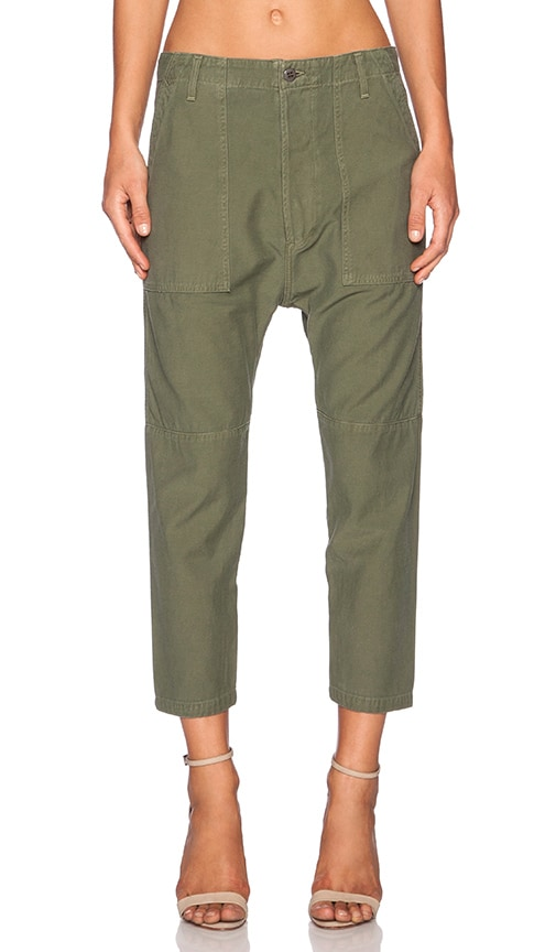 Citizens of Humanity Sadie Utlity Pant in Army