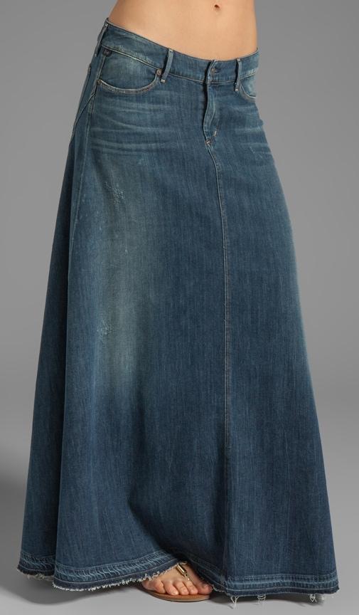 Jeans Anja Maxi Skirt