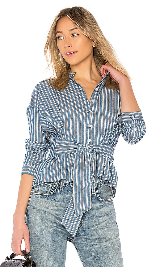 Citizens of Humanity Steffy Blouse in Blue