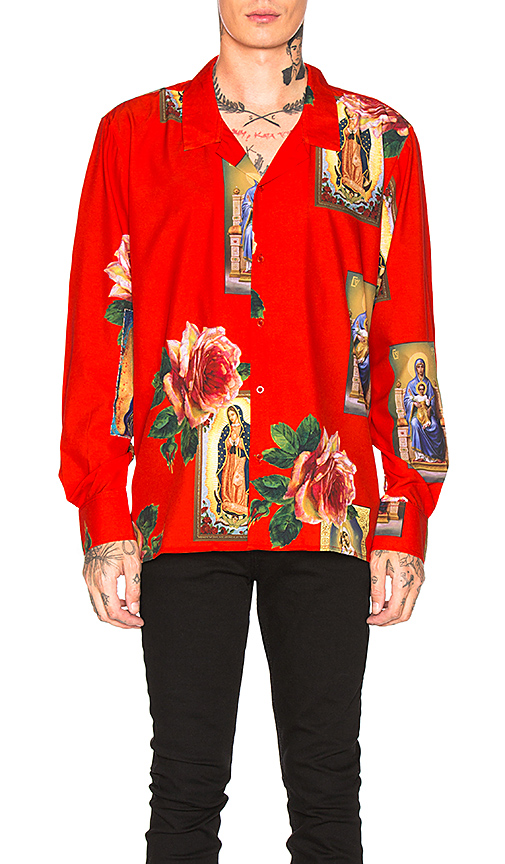 Holy Floral Long Sleeve Shirt