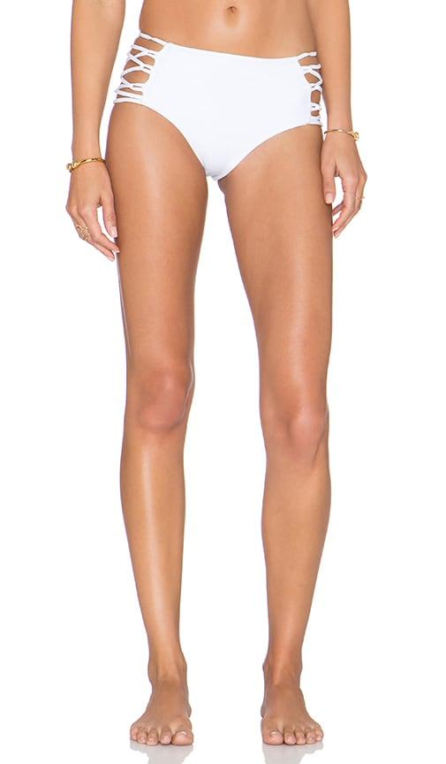 CAMI AND JAX Moana Bikini Bottom in White