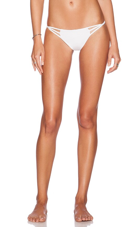CAMI AND JAX Anuhea Bikini Bottom in White