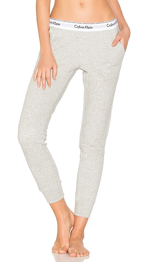 Calvin Klein Underwear Modern Cotton Jogger in Gray