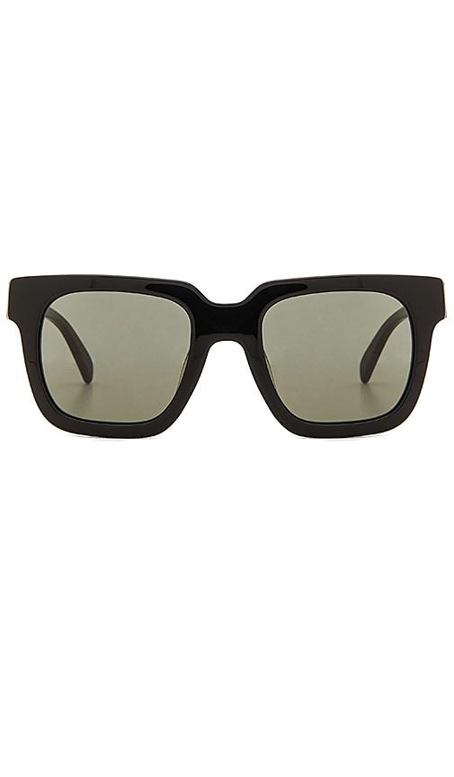 Carla Colour Jarvus Sunglasses in Black