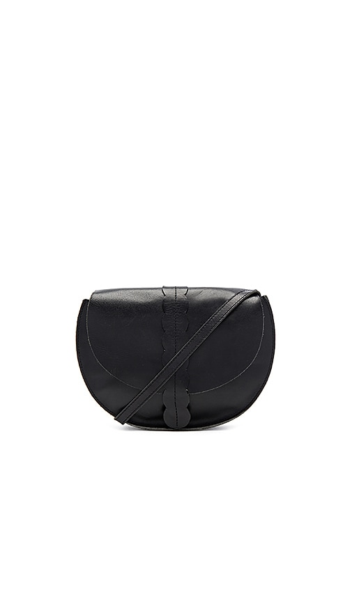 Clare V. Scalloped Luce Supreme Bag in Black