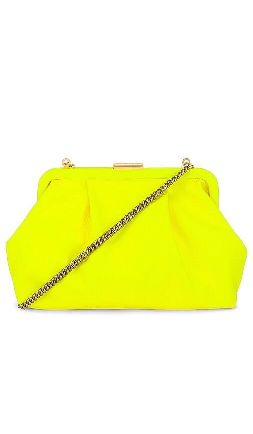 Clare V Sissy 包袋 – Yellow Neon Nappa
