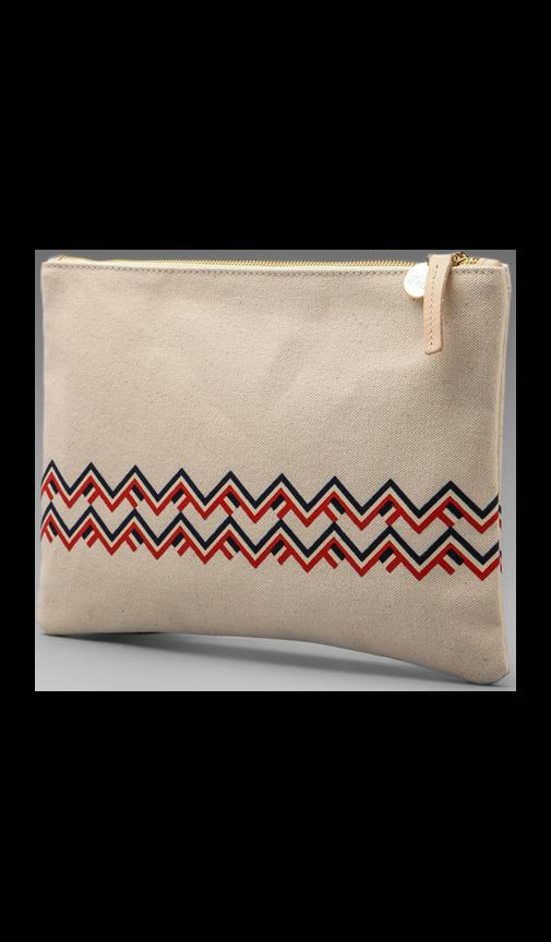 Maison Canvas Flat Clutch