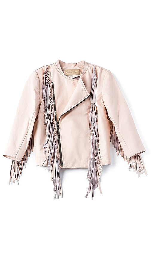 Cleobella Everly Mini Jacket in Peach