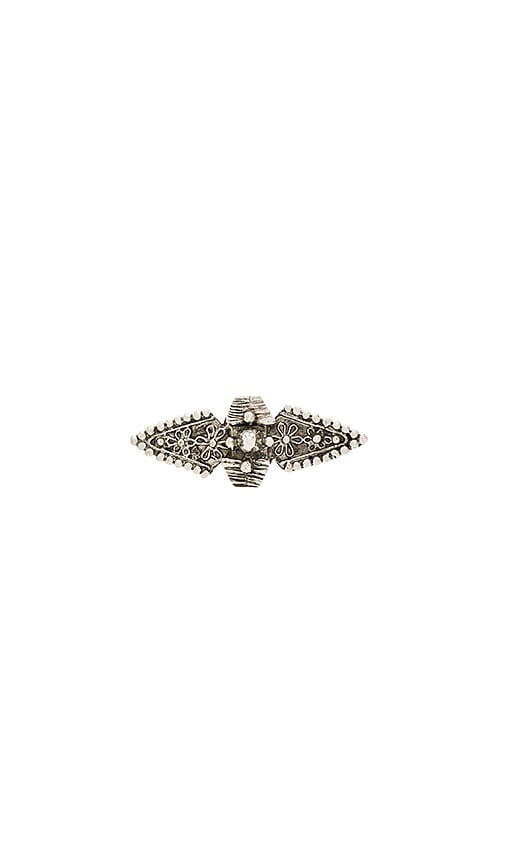 Cleobella Harlow Ring in Antique Silver