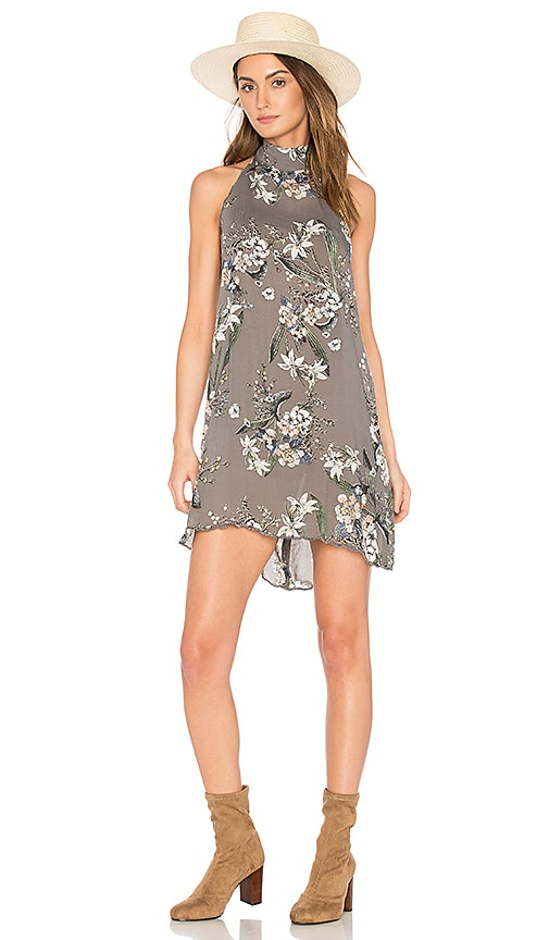 Cleobella Biya Short Dress in Gray