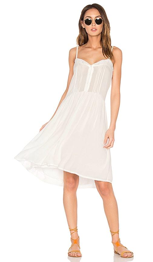 Cleobella Renny Short Dress in White