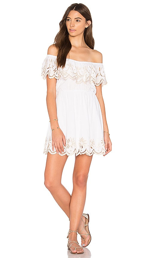 Cleobella Olimpia Dress in White