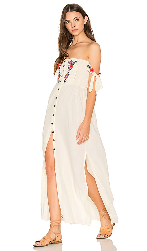 Cleobella Solita Maxi Dress in White