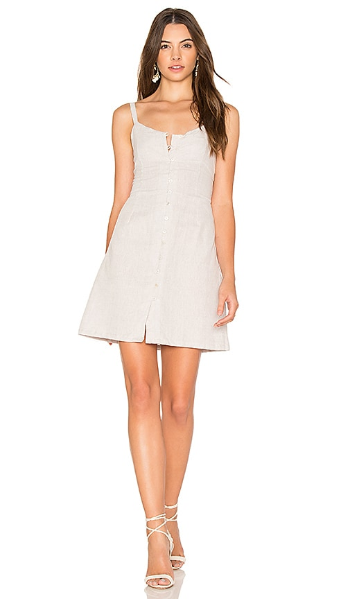 Cleobella Saltillo Short Dress in Gray