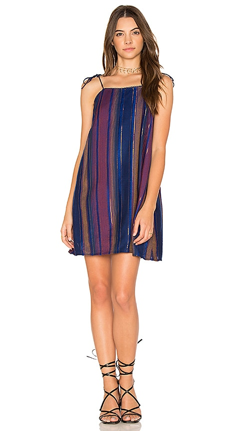 Cleobella Amalfi Slip Dress in Blue