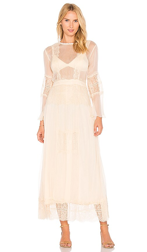 Cleobella Vienna Maxi Dress in Cream