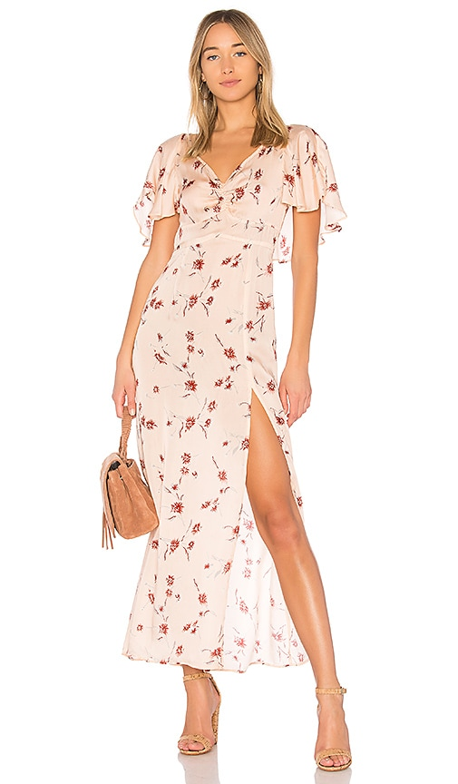 Cleobella Flint Maxi Dress in Peach