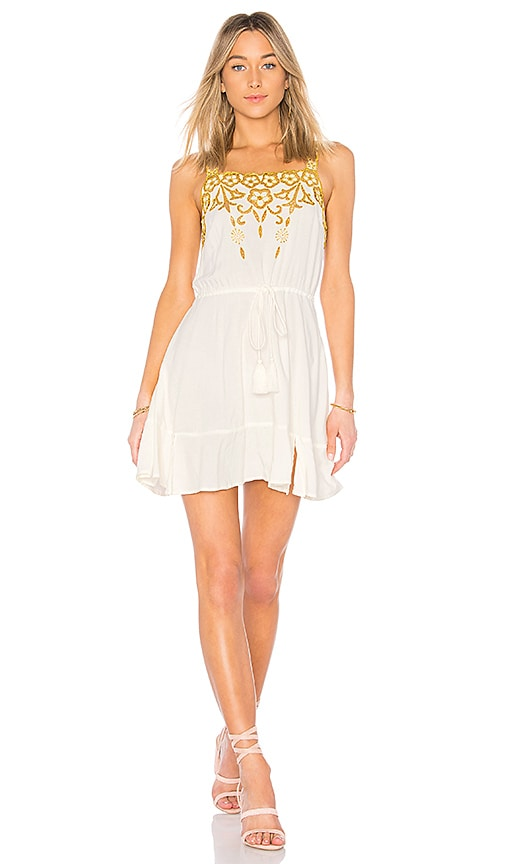 Cleobella Lucas Short Dress in White