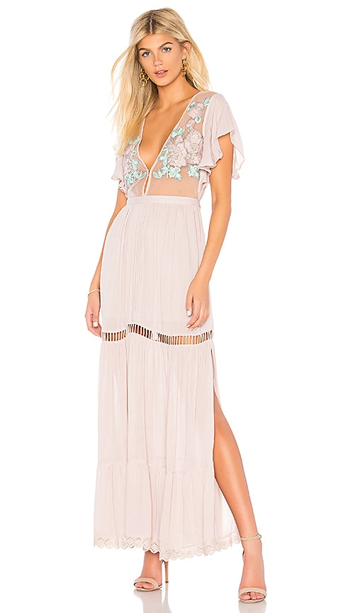 Cleobella Amery Maxi Dress in Mauve