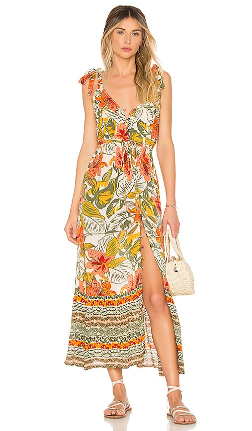 Cleobella Marla Maxi Dress in Orange