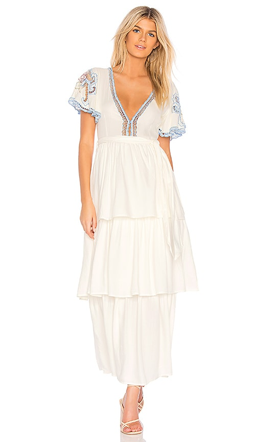 8222e1b4bd629 Cleobella Penelope Dress in Ivory | REVOLVE