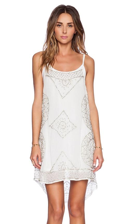 Cleobella Starry Dress in White