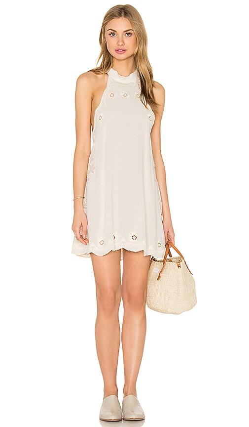 Cleobella Raquel Short Dress in Ivory