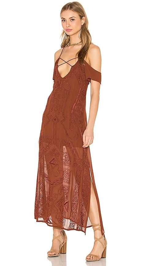 Cleobella Paris Dress in Brown