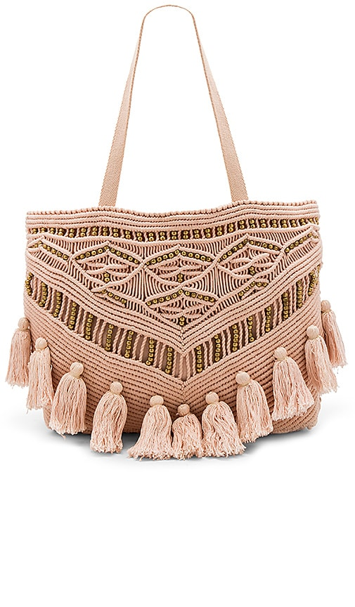 Cleobella Swoon Tote Bag in Blush