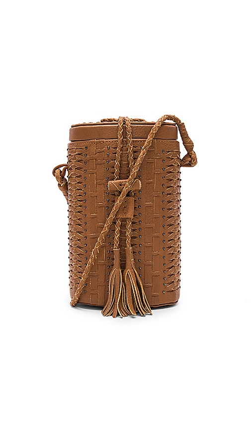 Cleobella Crosstown Bucket Bag in Brown